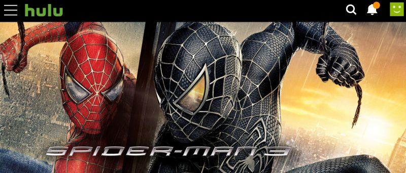 スパイダーマン Hulu