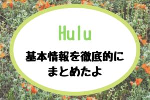 Hulu 基本情報 アイキャッチ
