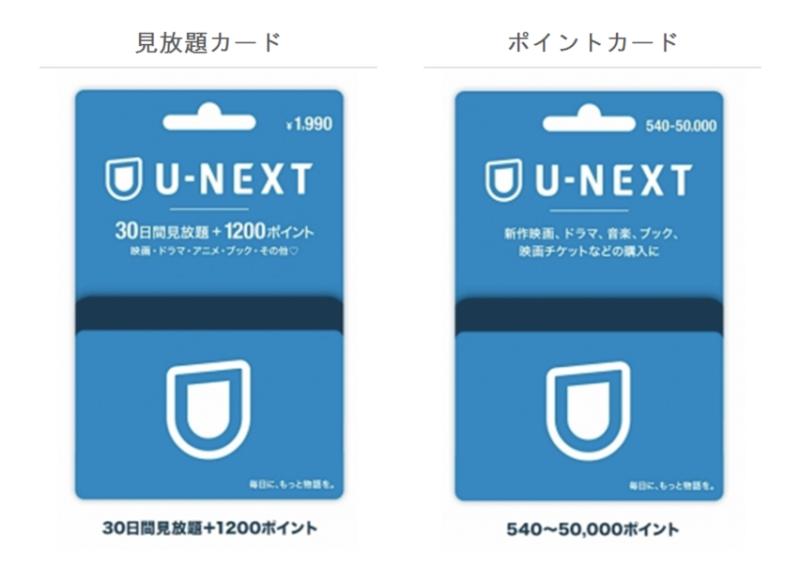 U-NEXTカード 画像